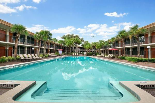 Swimming pools ramada gateway orlando hotel florida