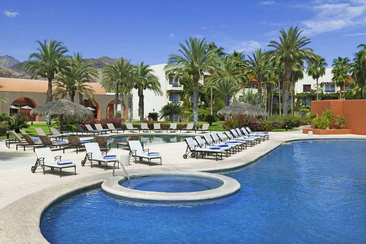 Outdoor swimming pool loreto bay golf resort & spa at baja hotel loreto, b.c.s.
