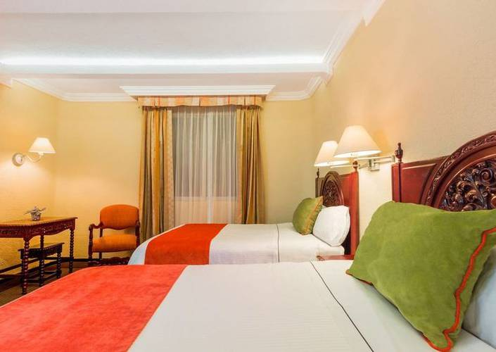 Single or double deluxe room geneve mexico city hotel